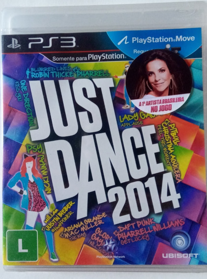 Game Just Dance 2014 Ps3 Original Lacrado Dança Com Ivete
