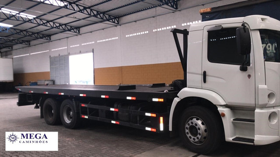 Vw 24280 Truck Plataforma Hidraulica 10t