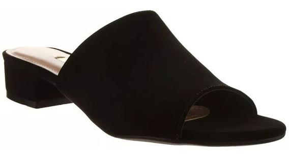 Sandalias Mujer Negras Vía Marte Nobuk 18-7810 Importadas.