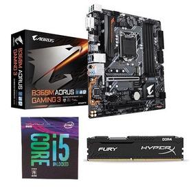 Kit 9° Geração I5-9400f + B360m Gaming3 + Hyperx 8gb 2666mhz