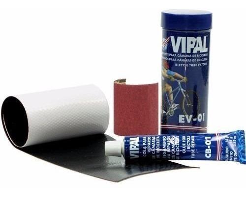 Kit Remendo Vipal Ev-01 Estojo Com Remendo Lixa E Cola