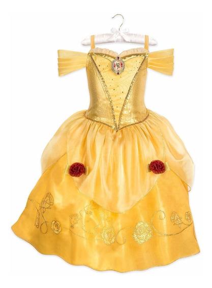 Disfraz Vestido De La Princesa Bella Original D Disney Store