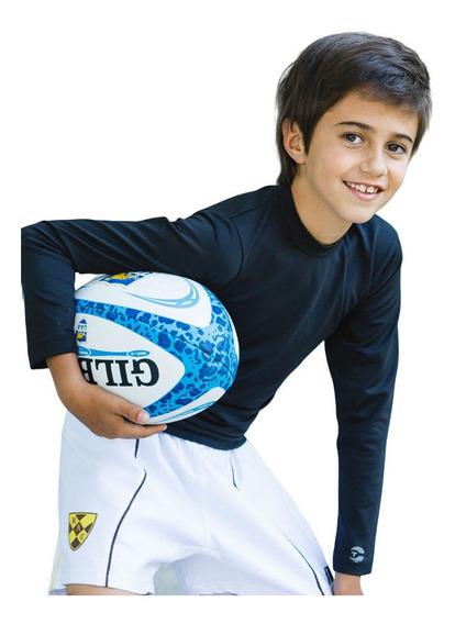Pack X 2 Camiseta Térmica Deportiva De Niño Manga Larga