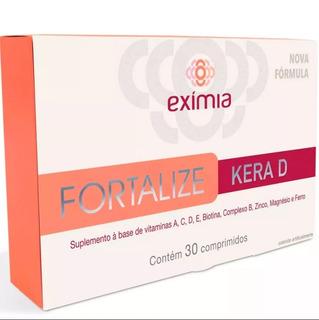 Eximia Fortalize Kera D 30 Comprimidos
