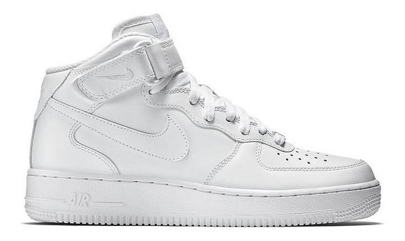 Tênis Nike Air Force 1 Mid 07 Branco Original