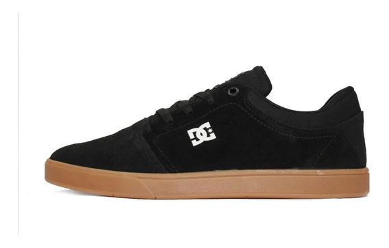 Tênis Dc Shoes Crisis La Preto/branco/caramelo