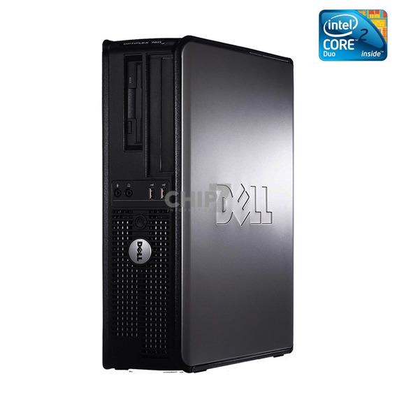 Desktop Dell Intel Core 2 Duo 4gb Ddr3 Hd 160gb