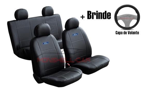 Capas Bancos Automotivos Carro Couro Ford Ka Fiesta Ecosport