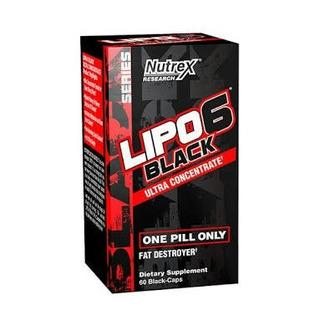Lipo 6 Black Ultra Concentrado Nutrex Research 60 Cápsulas