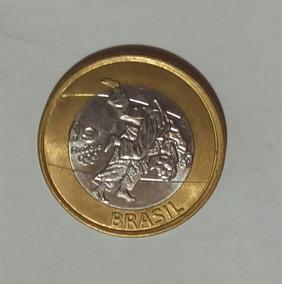 Brasil -moeda Comemorativa Olimpiadas- Judô
