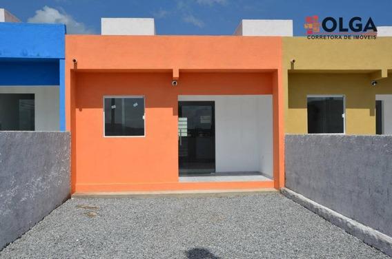Casa Com 2 Dormitórios. Financiamento Acessível - Gravatá, Pe - Ca0429