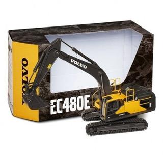 Excavadora Volvo Ec480e Diecast Replica 1/50 Construcción