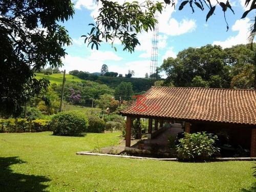 Imagem 1 de 25 de Chácara Com 3 Dormitórios À Venda, 5067 M² Por R$ 740.000,00 - Encosta Do Sol - Itatiba/sp - Ch0338