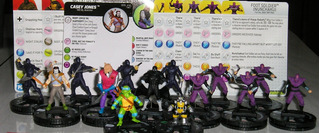 Lote 14 Heroclix Tortugas Ninja Y Enemigos Miniaturas 2016