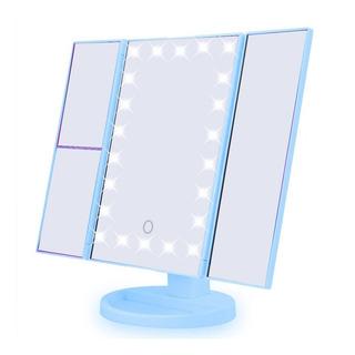 Espelho Camarim 22 Leds P Maquiagem De Mesa Portátil Rotação