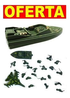 Bonecos Soldadinhos De Guerra Em Miniaturas Com Veiculos
