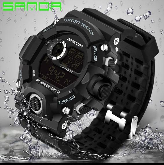 Relógio Sanda 326 G-shock/militar , A Prova Dágua