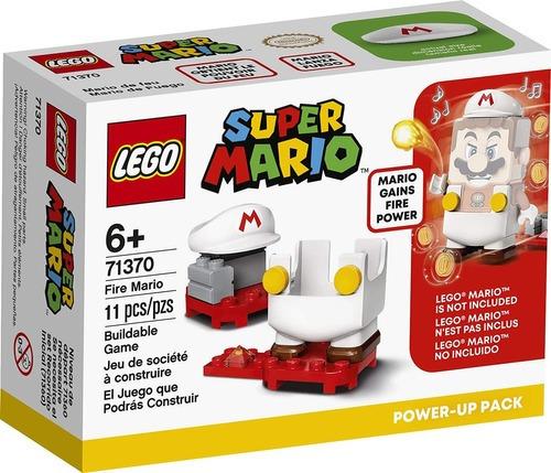 Lego Super Mario 71370 - Mario De Fogo Power Up