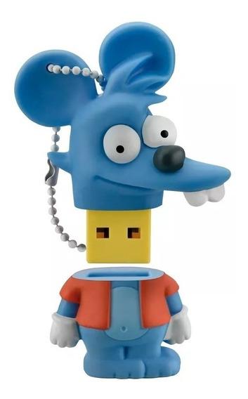 Pendrive Comichão 8gb Multilaser Simpsons - Pd076