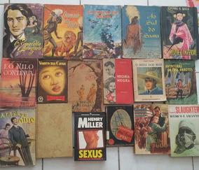 Livros Antigos De Literatura Estrangeira 30 Volumes