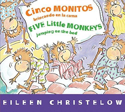 Libro Cinco Monitos Brincando En La Cama/five Little Monke