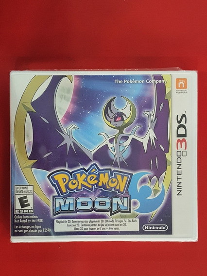 Pokémon Moon Nintendo 3ds