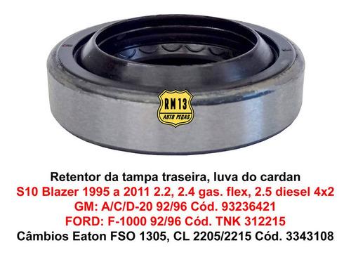 Imagem 1 de 5 de Retentor Tampa Traseira Câmbio S10 Blazer 4x2 Ac20 F1000