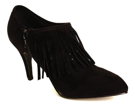 Zapato Mujer Fiesta Stiletto Gamuza Massimo Chiesa Verena