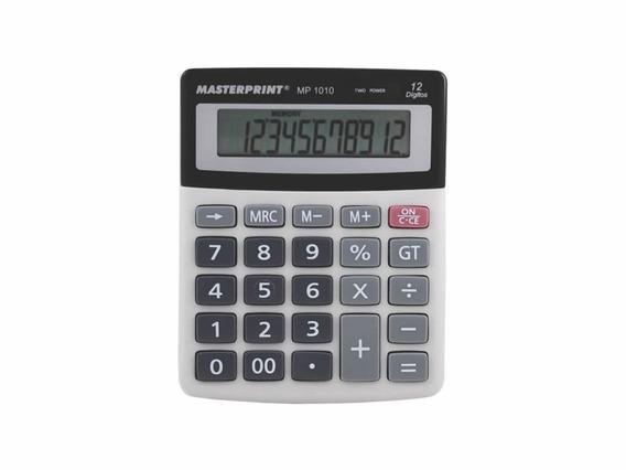 Calculadora Manual 12 Dígitos Mp 1010