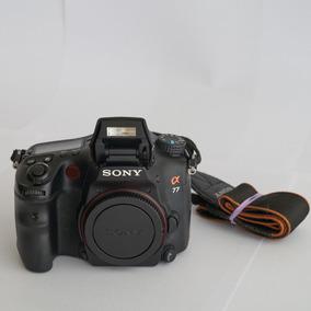 Camera Fotografica Dslr Sony Slt-a77v - Versão Com Gps