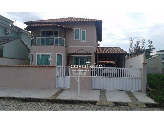 Casa Residencial À Venda, Itaipuaçu, Maricá - Ca1754. - Ca1754