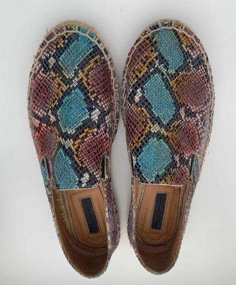 Zapatos Alpargatas Reptil Top Shop