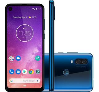 Smartphone Motorola One Vision 6.3 Azul Safira - Xt1970-1az