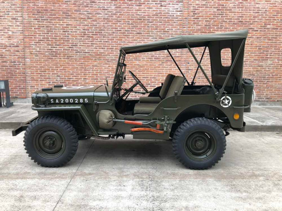 Jeep Ford Gpw 4x4 - 1943 - Willys