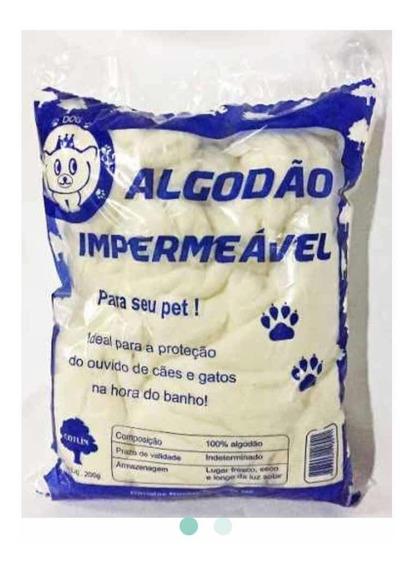 Pacote De 1kg Algodão Impermeável Hidrófobo