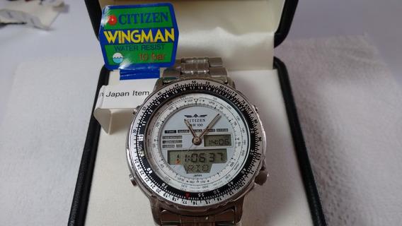 Citizen C080 New Wingman Prata - Fundo Branco