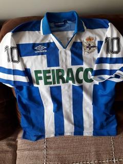 Camisa Lá Coruña 1995 De Jogo Época Do Bebeto Umbro