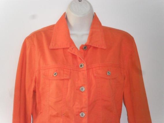 *chaquetas Manga Largas Con Cuellos Roja Y Naranja De Moda