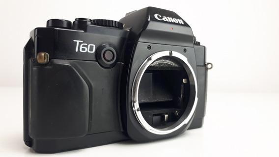Câmera Fotográfica (com Defeito) Analógica Canon T-60