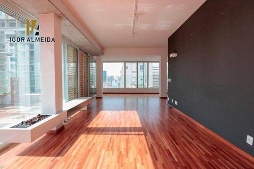 Cobertura Penthouse Com 3 Dorms À Venda, 242 M² Por R$ 4.300.000 - Higienópolis - São Paulo/sp - Ph0010