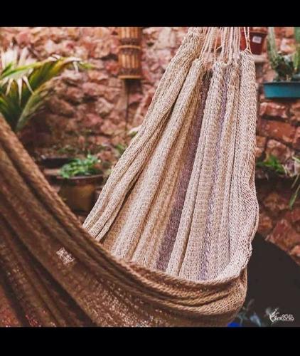 Rede De Dormir Tradicional De Fibra Natural De Buriti/ Tucum