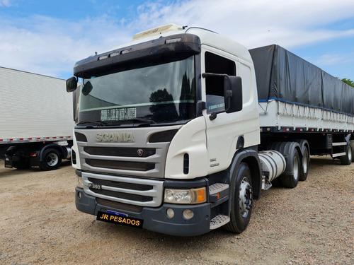 Scania P360 Ano 2013 Automático Trucado 6x2 Baixo Km