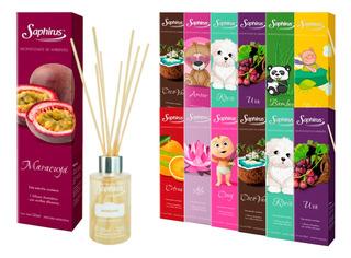 Difusor Aromático Varillas De Bambú Saphirus Fragancias X 12