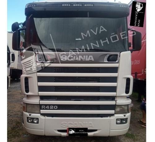 Caminhão Scania R 420 - 6x2 T