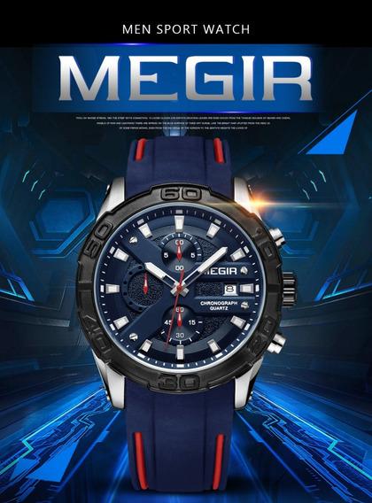Relógio Masculino Megir Original Pronta Entrega Modelo 2055