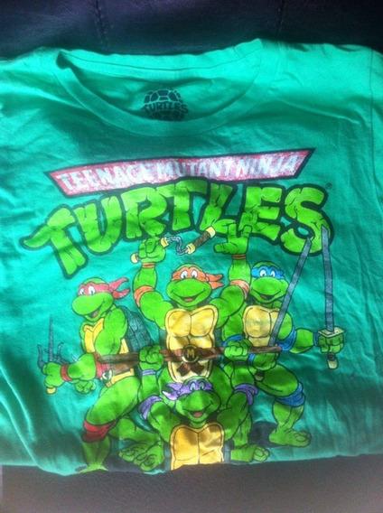Playera Tortugas Ninja Chica Nickelodeon