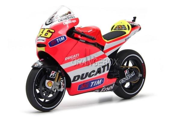 Ducati Valentino Rossi #46 Moto Gp 2011 1:12 Minichamps