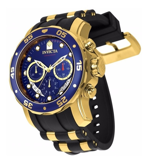 Atendendo A Pedidos! Invicta 6983 Original! Gold Plated 18k
