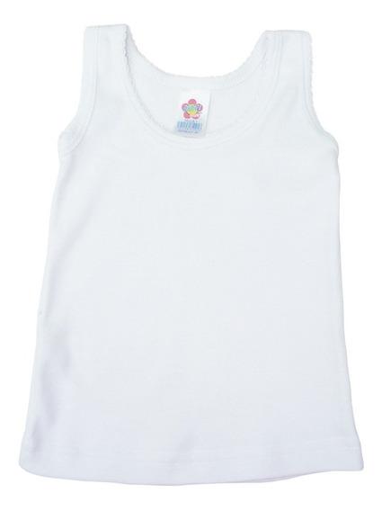 Set De 4 Camiseta Interior Niñas Marca Bambi #1 A #6 Años