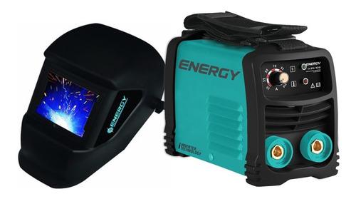 Soldadora Inversor 130a 110v Profesional Energy + Careta